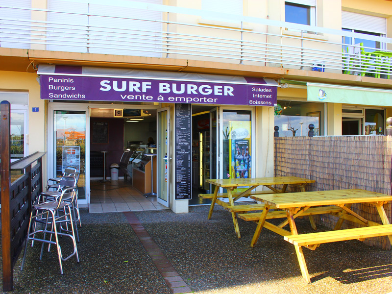 Surf burger sables d 39 or anglet for Restaurant chambre d amour anglet